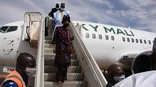 First commercial flight since 2012 lands in Mali's Timbuktu