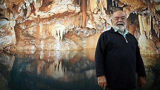 Henri Cosquer, explorador que descobriu a gruta Cosquer em 1985