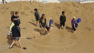 کودکان در اردوگاه الهول سوریه