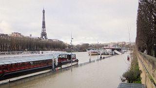 Paris remains on flood alert as Seine swells
