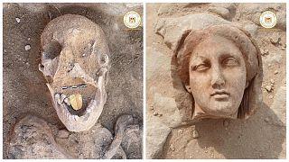 Mısır'da yeni tarihi eser keşfi
