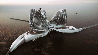 The innovation comes from the word-famous architectural firm founded by Zaha Hadid