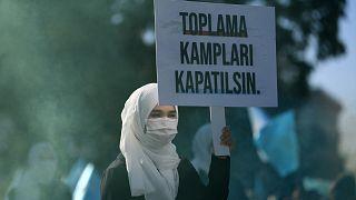 Uygur Türklerine destek eylemi / ARŞİV