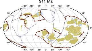 New study reconstructs shift of Earth's tectonic plates