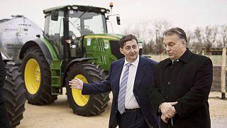 Orbán Viktor és Mészáros Lőrinc 2014-ben