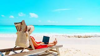 Living the dream? Remote working from the beach