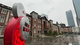 Reloj con la cuenta atrás para los JJOO de Tokio
