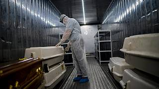 South Africa's COVID-19-Related Death Container Mortuaries