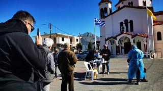 Ελλάδα - Τεστ κορονοϊού