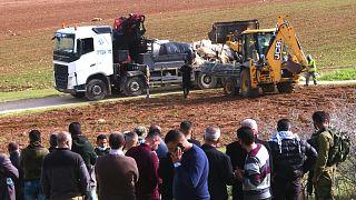 قوات إسرائيلية تهدم قرية فلسطينية في الضفة الغربية