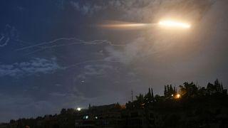 پدافند هوایی در دمشق (عکس تزئینی است)