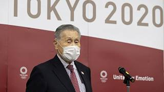 Tokyo Olympic and Paralympic Games Organising Committee (TOGOC) President Yoshiro Mori.