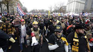 راهپیمایی پسران مفتخر در واشنگتن