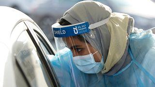 السعودية - فحص الإصابة بفيروس كورونا
