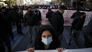Πανεκπαιδευτικό συλλαλητήριο (φωτογραφία αρχείου)