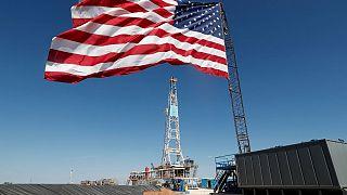 تاسیسات استخراج نفت در تگزاسِ آمریکا