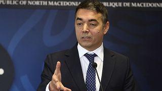 Ο αντιπρόεδρος της κυβέρνησης της Βόρειας Μακεδονίας Νικολά Ντιμιτρόφ «επιβίωσε» πρότασης μομφής