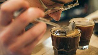 El olor a café