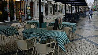 As mesas de restaurante podem voltar à baixa de Lisboa no final de fevereiro