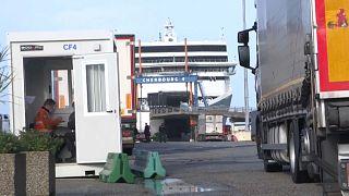 Porto de Cherbourg, França