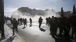Ένταση στο πανεκπαιδευτικό συλλαλητήριο
