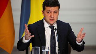 Der ukrainische Präsident Volodymyr Zelenskiy