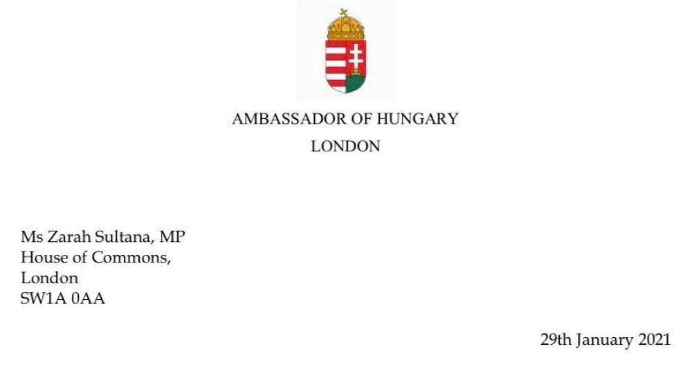 Antiszemitizmus-vita a londoni magyar nagykövet és egy brit parlamenti képviselő között