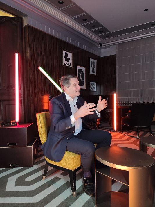 Jean-Marc Ollagnier, Europe CEO Accenture
