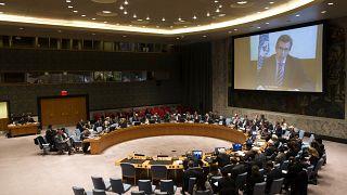 مجلس الأمن التابع للأمم المتحدة في نيويورك