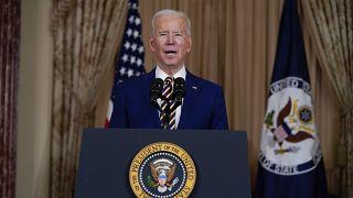 Joe Biden diz que os EUA estão de volta