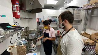 En Espagne, l'explosion de la livraison de repas à domicile