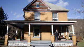 """Das Haus aus """"Schweigen der Lämmer"""" in Perryopolis, Pennsylvania."""