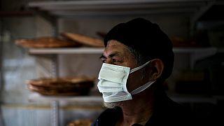 محمد أمين، من الإيغور، في مخبزه في اسطنبول  2 فبراير 2021