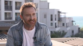 David Guetta performs COVID charity concert in Dubai