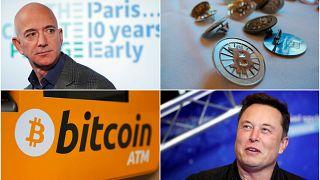 Kripto para birimi Bitcoin geçtiğimiz haftalarda 40 bin dolar barajını aşarak büyük değer kazanmıştı.