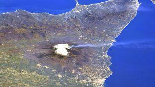 La foto scattata dall'astronauta giapponese Noguchi Soichi dall'ISS