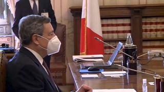 Ιταλία: Διευρύνεται η στήριξη για κυβέρνηση Ντράγκι