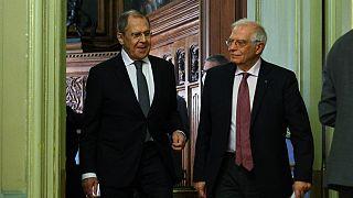 Visita de Borrell à Rússia causa embaraço à UE