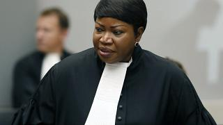 FILE - In this Tuesday Aug. 28, 2018 file photo, Prosecutor Fatou Bensouda at the International Criminal Court (ICC) in The Hague, Netherlands.