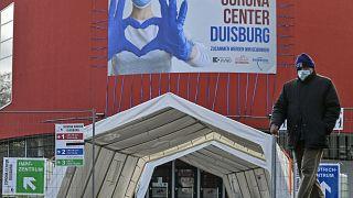 Testzentrum in Duisburg
