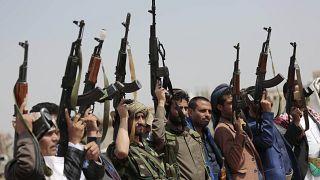 Yemen'de Husilerin safında yer alan silahlı gruplar / Arşiv