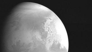 أول صورة للمسبار الصيني من المريخ