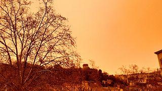 Lyon in Frankreich am Samstagmorgen