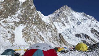 معسكر قاعدة جبل كي 2، باكستان