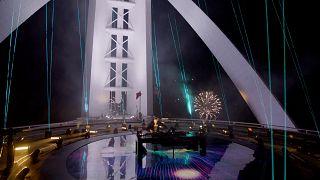 Il dj set benefico di David Guetta dal Burj Al Arab di Dubai