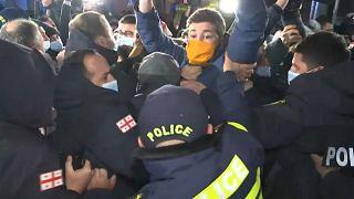 Demonstration in Tiflis