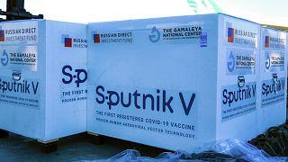 محموله واکسن روسی در ایران