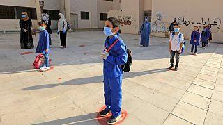تلاميذ في مدرسة أردنية