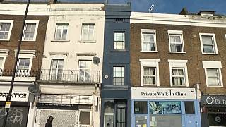 London's thinnest house is up for sale