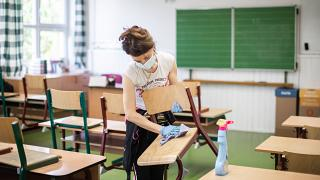 Hétfőn nem nyitnak ki a szlovák iskolák - képünk illusztráció
